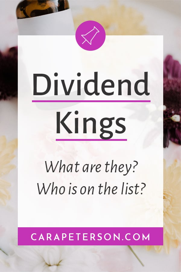 Dividend Kings: What are they? Who is on the list?