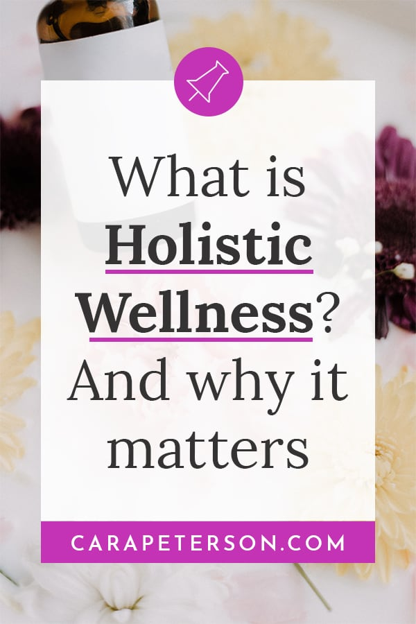 What is holistic wellness? And why it matters