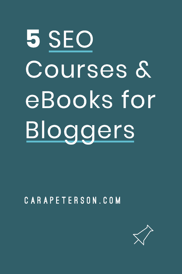 5 SEO Courses and ebooks for bloggers
