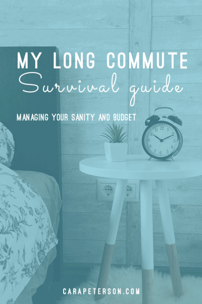 Long Commute Survival Guide