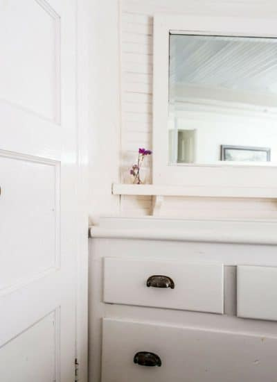 Bathroom scene as part of shopping use up your flexible spending account